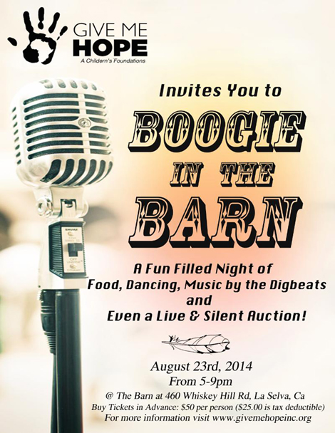 Boogie In The Barn Flyer